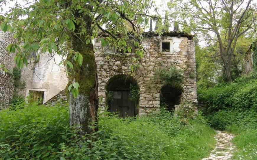 Old Perithia Corfu | Corfu Chauffeur